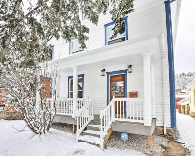 NEW! Historic Victorian Home in Dtwn Idaho Springs - Idaho Springs