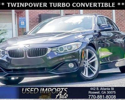 2015 BMW 4 Series 2dr Conv 428i RWD SULEV