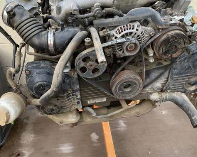 Complete Subaru Motor Swap everything included