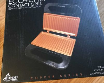 Electric grill/Panini grill -new