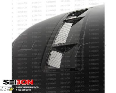 Seibon Carbon Fiber Gt-style Carbon Fiber Hood Kit Auto Body Ford Mustang, Shelb
