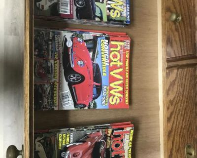 Dune Buggies and Hot VW Magazines