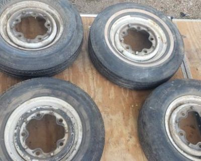 """14"""" bus rims dated 69 and 70"""