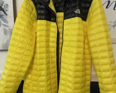 Men s extra large downs jacket/coat. North Face. Worn once