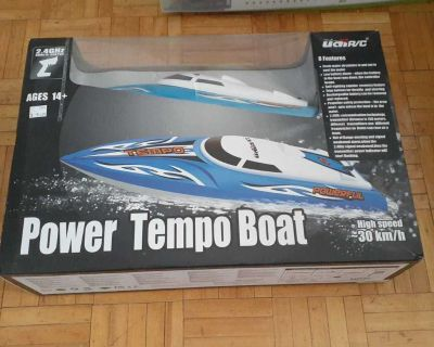 Rc power boat