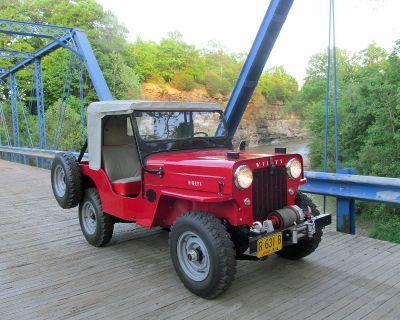 1960 Willys Jeep Universal CJ-3B