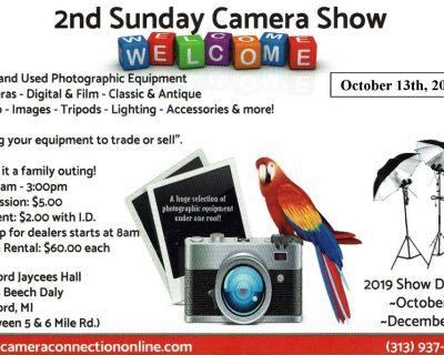 2nd Sunday Camera Show (Buy Sell Trade) Redford, Michigan