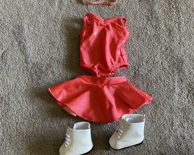 American Girl- Sparkle & Spin Skating Outfit