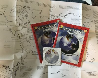*Homeschool* Geography Songs with CDs