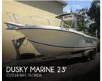 23 foot Dusky Marine Open Fisherman