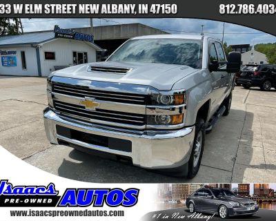 "Used 2018 Chevrolet Silverado 2500HD 4WD Crew Cab 153.7"" Work Truck"