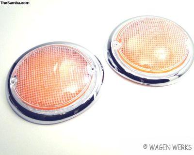 Bus Turn Signal Lens Type 2 1962 to 1967 German