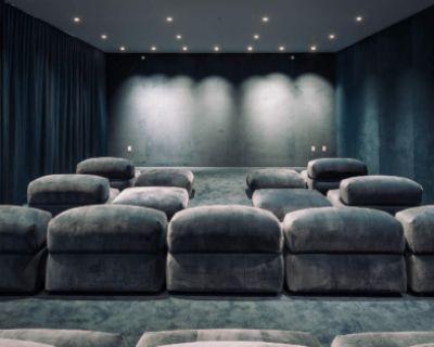 Luxury Screening Room in Beverly Hills, Beverly Hills, CA