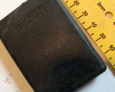 Seat belt reciever cover piece