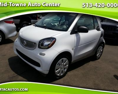 Used 2016 Smart Fortwo 2dr Cpe Pure