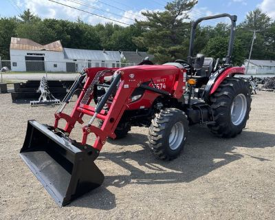 2020 TYM Tractors T574 Hydrostatic Tractor W/ Loader And Industrial