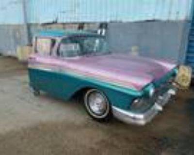 1957 Ford Fairlane Half Car