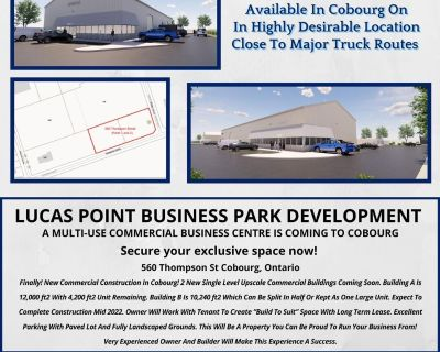 NEW BUILT TO SUIT COMMERCIAL SPACE
