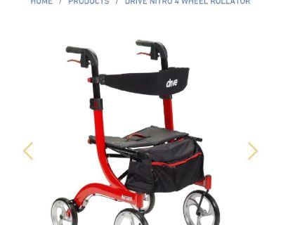 Brand new in box large heavy duty walker