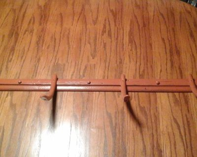 Antique Upcycled Chair Rungs & Shiplap Wooden Coat Rack