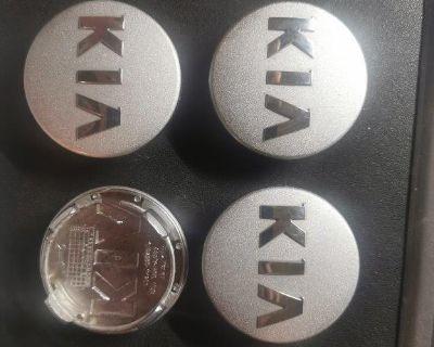 Kia Wheel center caps (4)