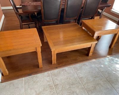 3 tables great deal