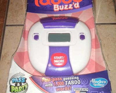 Taboo Buzz'd Electronic Game