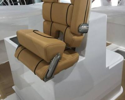 Helm Seats FS Matching Pair Taco Marine BRAND NEW Helm Seating Captains Chairs Seats