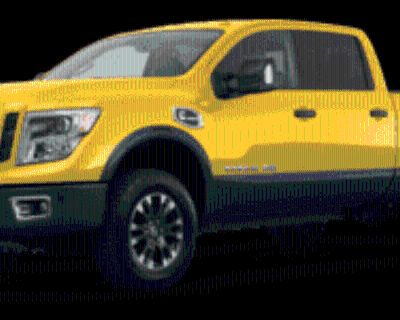 2017 Nissan Titan XD PRO-4X Crew Cab Diesel 4WD