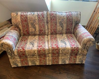 2 Seat Contemporary Living Room Love Seat