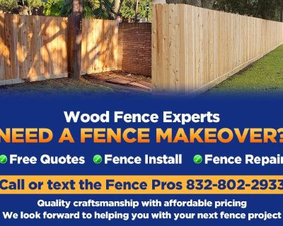 Need A Wood Fence Makeover?