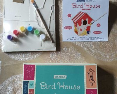Wooden Bird House Toys ( NOTE CROSSPOSTED)