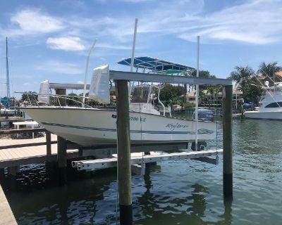 2003 Key Largo 19 open fisherman with T-top