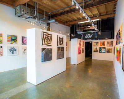 Whitebox Gallery Event Space along the Eastside Beltline Trail, Atlanta, GA