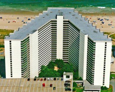 Sea Watch 1319-Oceanfront 115th St, Free WiFi, Pool, Elev, W/D, AC - North Ocean City