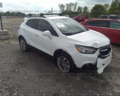 Salvage White 2019 Buick Encore