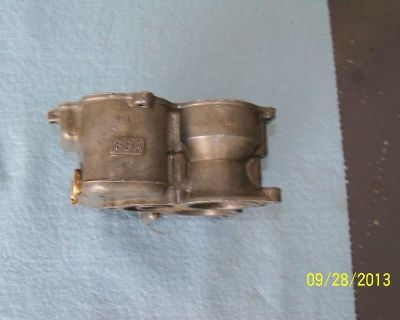 Ford Carburetor Mid-section 8ba (nice Parts)