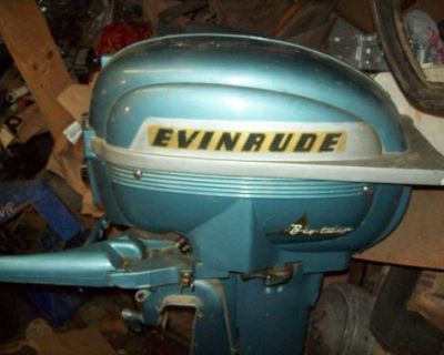 Evinrude Big Twin 25 Hp Outboard Motor Shipping Is Available