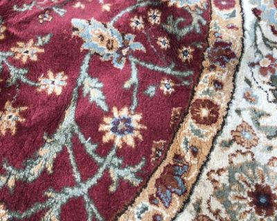 Area rug rd 8'