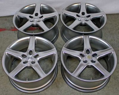 """18"""" Porsche Radius Moda Wheel 996 993 928 911 964 Boxster Cayman 944 951 Italy"""