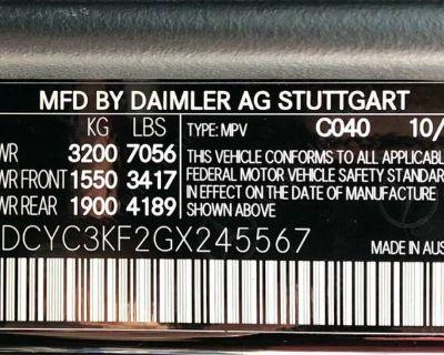 2016 Mercedes-Benz G-Class G 550