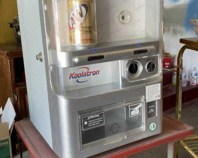 Soda machine $20