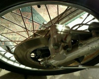 1975 Honda Cb360 Front Rim With New Tire. Look Free Shipping
