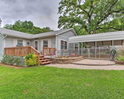 NEW! Waterfront Home - Back Yard, Boat Slip & Deck - Mabank