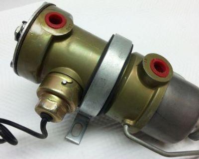 New Old Stock Nos Stewart Warner 240a 12v Hot Rod Track Race Electric Fuel Pump