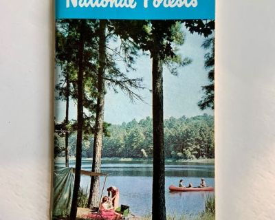 1966 Recreation Guide to Southern National Forests Booklet