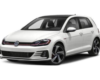 Certified Pre-Owned 2018 Volkswagen Golf GTI SE FWD Hatchback