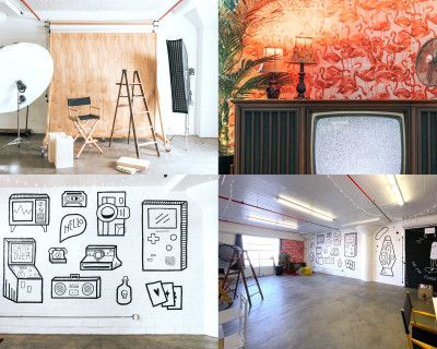 Spooky 70's Modern Vintage Themed Studio Space -The DarkRoom LA, Los Angeles, CA
