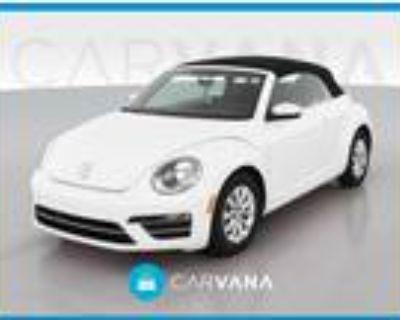 2019 Volkswagen Beetle White, 23K miles