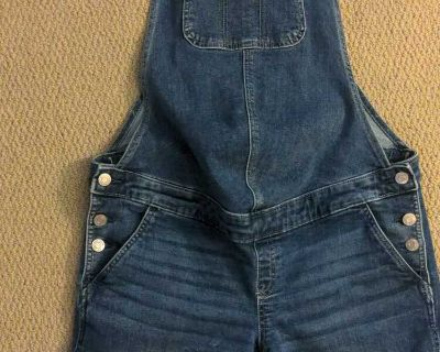 Gap maternity overall shorts